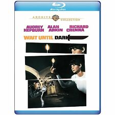 WAIT UNTIL DARK (1967 Audrey Hepburn) -  Blu Ray - Sealed Region free