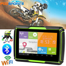 Motorcycle Motorbike Travel GPS Navigation Bluetooth Android Sat Nav 47 Language