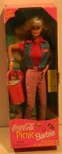 1997 Coca Cola Picnic Barbie Doll Blonde #19626 Made By Mattel New