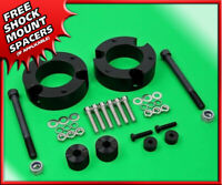 """Blk Billet 2"""" Front Level Lift Kit For 2000-2007 Toyota Sequoia 4wd + Diff Drop"""