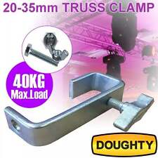 35mm Doughty Heavy Duty Truss Hook Clamp 40Kg Load inc Bolts DJ Lighting *SALE*