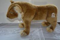 "NWT Hansa Toy Original Lion Cub Standing Realistic Plush Stuffed Animal 24"" 4310"