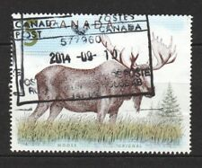 CANADA 2005 WILDLIFE MOOSE $5.00 1 STAMP SC#1693 IN GOOD USED CONDITION