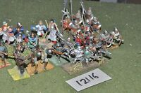 25mm late medieveal infantry 28 figures (12116)