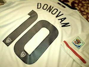 Jersey US Landon Donovan nike USA 2010 (XL) USMNT soccer white WC2010