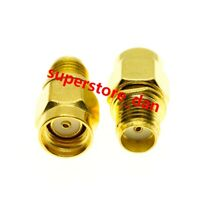 1x SMA female jack to RP-SMA male RPSMA Plug RF coaxial adapter connector Wifi