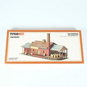 Tyco HO Scale Brewery Industrial Unassembled Plastic Building Kit No 7782