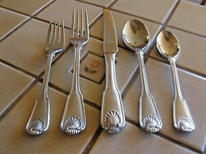 TOWLE LONDON SHELL 18/8 STAINLESS GERMANY FLATWARE CHOOSE YOUR ITEMS