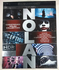 Christopher Nolan 4K Ultra HD 7-Film Collection ITALY IMPORT Dunkirk Inception