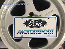 AUTHENTIC FORD MOTORSPORT METAL LICENSE PLATE SALEEN MUSTANG GT 302 SHELBY 5.0