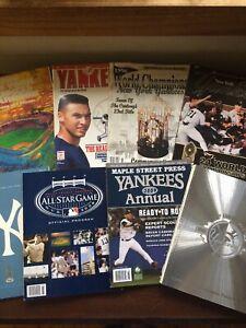 WOW !! N.Y Yankees Yearbooks And Programs