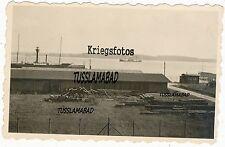 Kleiner Hafen Feuerschiff Leuchtturm Boote Technik Foto