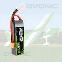 Ovonic 50C 14.8V 2200mAh 4S Lipo Battery with XT60 Plug for Helicopter RC Cars