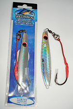 WILLIAMSON  VORTEX SPEED JIG 3–1/2oz.100gr. BEST SALTWATER FISHING JIGGING LURES