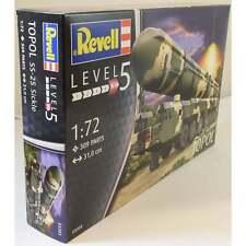 KIT REVELL 1:72 MEZZO MILITARE TOPOL SS-25 SICKLE LUNGHEZZA 31 CM   ART 03303