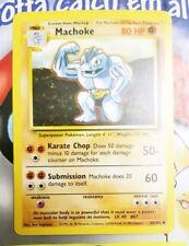 Pokemon Cards - Machoke #34/102 [BASE Set] [NM+] (1999)