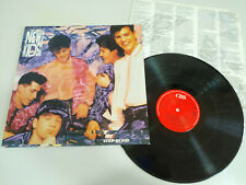 "New Kids on the Block NKOTB Step By Step CBS 1990 - LP Vinilo 12"" VG/VG 3T"
