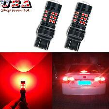 Strobe/Flashing Red 30-LED Blinking Bulbs Brake Tail Lights For Honda Civic CR-V