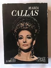 MARIA CALLAS 1977 LORCEY ILLUSTRE