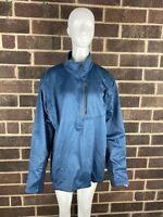 The North Face Men's Gordon Lyons Blue 1/4 Zip Pullover Jacket Size XL