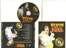 "ELVIS PRESLEY CD ""A BURST OF FIRE"" 2011 MEMORY AUGUST 24 1973 DS LIVE LAS VEGAS"