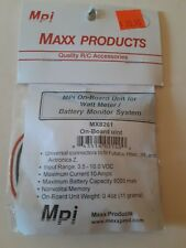 MPI MAXX PROD. MX8261 ON-BOARD UNITE FOR WATT METER/BATTERY MONITOR SYSTEM NIB