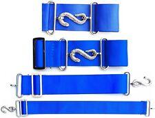 Apron Belt Extender Extension For Masonic Aprons Blue/Silver
