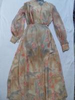 VINTAGE1970s FLOATY FLORAL BOHO DRESS - reduced!!