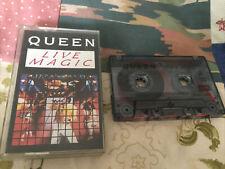 QUEEN - LIVE MAGIC - TAPE CASSETTE ALBUM