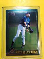2001 Topps Chrome Traded RC #T266 ICHIRO Suzuki Seattle Mariners Rookie HOF  🔥