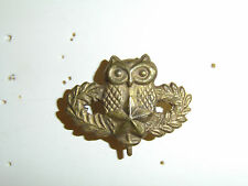 b9512 Vietnam era Australian Army  Recon badge metal owl IR17C