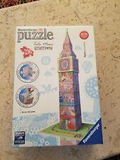 NIB Ravensburger Tula Moon Big Ben London - 3D Puzzle (216-Piece)