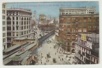 Broadway Looking North At 33rd St, New York City, NY, Pre-Linen  Postcard