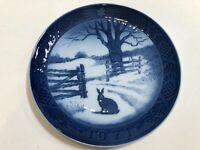 """1971 Royal Copenhagen Christmas Plate, 7"""" Diameter"""
