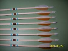 New listing Kids used  start up wood flied type arrows ( bows under 30 #).