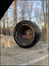 Minolta (Sony A Mount) Maxxum 50mm f1.7AF Lens Clean Optics