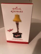 2013 Hallmark A Major Accident Leg Lamp from Keepsake Ornament A Christmas Story