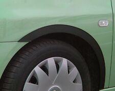 RENAULT CLIO III '05-13 Radlauf Zierleisten Schwarz matt 4 Stück Vorne Hinten