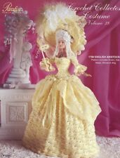 1790 English Aristocrat Outfit for Barbie Paradise vol. 28 Crochet PATTERN NEW