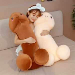 Cute Long Penis Pillow Stuff Toy Soft Sexy Funny Pillow For Girlfriend Plush Dol