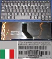 Clavier Qwerty Italien Toshiba Satellite L100 L10 L20 L25 L30 AEBH10II019 Noir