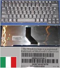 Teclado Qwerty Italiano Toshiba Satellite L100 L10 L20 L25 L30 AEBH10II019 Negro