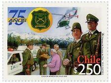 Chile 2002 #2105 75 años Carabineros de Chile Police MNH