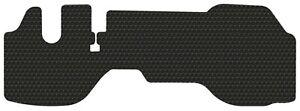 Fits 2007-up Isuzu NPR(and-HD) NQR NRR DIESEL Only - 1 PC Black Rubber Floor Mat