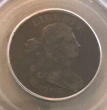 1806 draped bust , PCGS F12 , OGH, , scarce