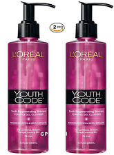 L'Oreal Paris Youth Code Foaming Gel Cleanser, 8 Ounces Pack of 2