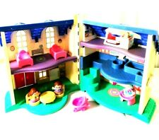 fisherprice 1999 dolls house with furniture and 1997 dolls