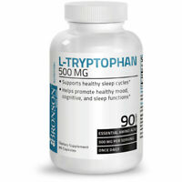 Bronson L-Tryptophan 500 mg, 90 Capsules