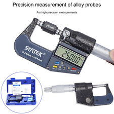 "0-25mm 0-1"" Electronic Digital Micrometer Micro Calipers Measuring Meter Tester"