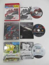 Lot of 3 Sony PlayStation 3 Games PS3 - GRAN TURISMO 5 - NEED FOR SPEED & MORE
